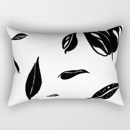 Everything is Black Rectangular Pillow