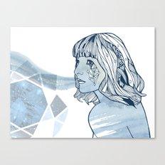 Lavender Diamond Canvas Print