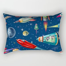 rockets in traffic Rectangular Pillow