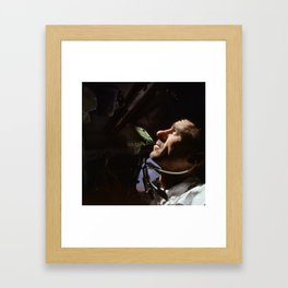 Apollo 7 - Looking At The Stars Framed Art Print