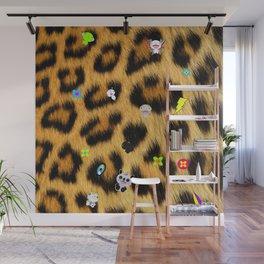 Leopard mix Wall Mural