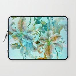 bue lilies Laptop Sleeve