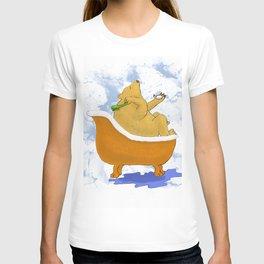 Bubble Bath - Bear in the Tub! T-shirt