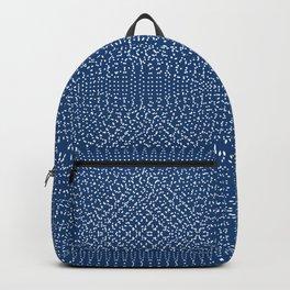 Komon circular pattern Backpack