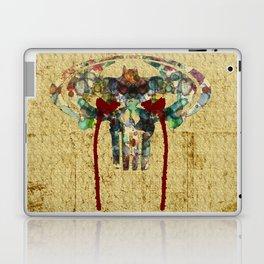 Watercolor Punisher Bat Laptop & iPad Skin