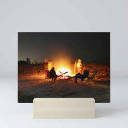 Campfire Mini Art Print