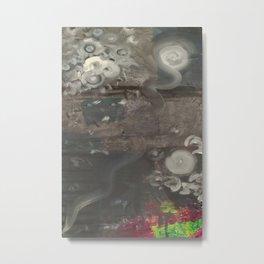 Swirley Space Metal Print