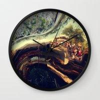 sonic Wall Clocks featuring Sonic Reflections by KunstFabrik_StaticMovement Manu Jobst