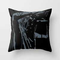 jared leto Throw Pillows featuring Jared Leto (gig) by idontfindyouthatinteresting
