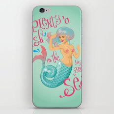 Plenty 'o fish iPhone & iPod Skin