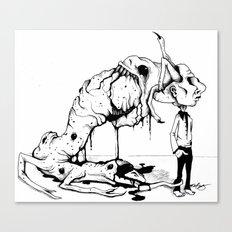 A Carnivore's Dream Canvas Print