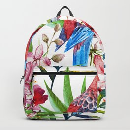 Tropical Bird Pattern 05 Backpack