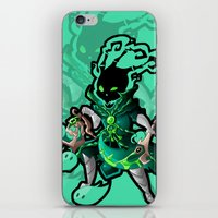 league of legends iPhone & iPod Skins featuring League of Legends - Thresh by kirueru