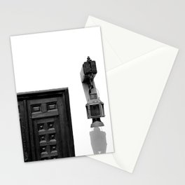 Light and Exit Stationery Cards