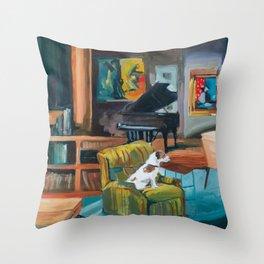 Frasier's apartment Throw Pillow