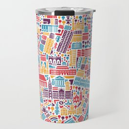 Munich City Map Poster Travel Mug