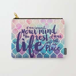 Correct Your Mind Carry-All Pouch