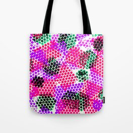 Colorful Fusion Tote Bag