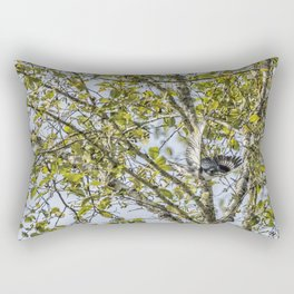 Belted Kingfisher in Flight, No. 1 Rectangular Pillow