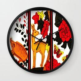 HANAFUDA Wall Clock
