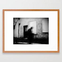 I follow you in the street, sometimes. 3 Framed Art Print