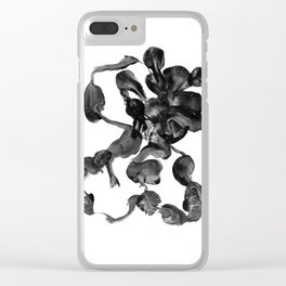 Tied in Knots 1 Abstract Painting Clear iPhone Case