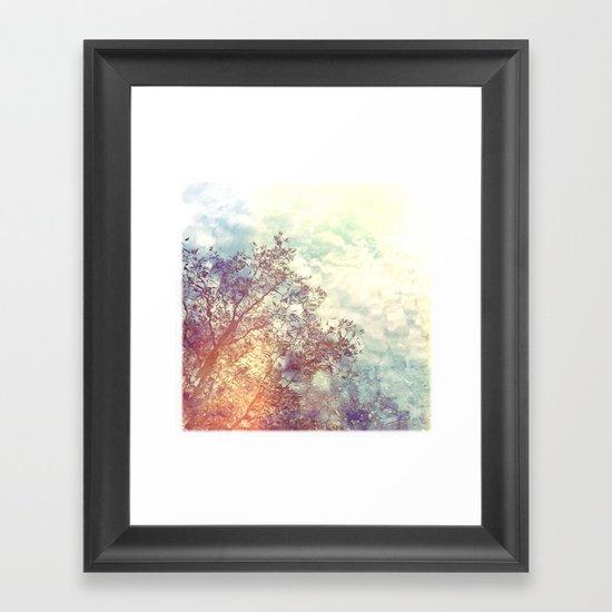 A Natural Montage Framed Art Print