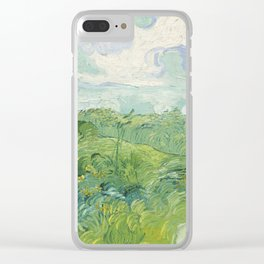 Vincent van Gogh Green Wheat Fields, Auvers 1890 Painting Clear iPhone Case