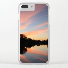 Sunset in Arizona Clear iPhone Case
