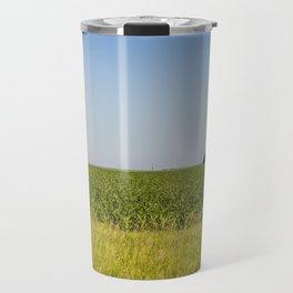 McLean County  Cornfields Travel Mug