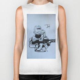 Snowtrooper (Force Awakens) Biker Tank