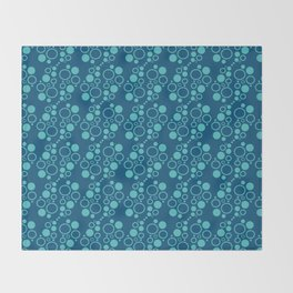 Bubbles, bubbles everywhere Throw Blanket