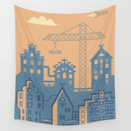 Future Amsterdam Wall Tapestry