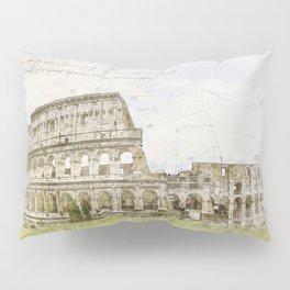 Colosseum, Rome Italy Pillow Sham