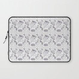 Pizza Art Mandala Laptop Sleeve