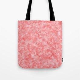 Strawberry Blush Orgnaic Abstract Tote Bag