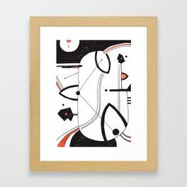 COUPLE IDEAS Framed Art Print