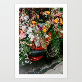 Flower Bomb IIII Art Print