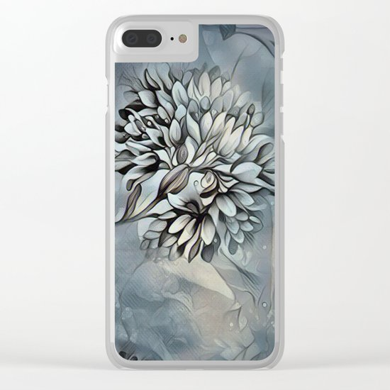 Barely Blue Clear iPhone Case