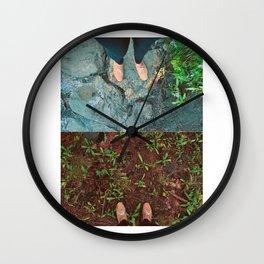 Destressed Wall Clock
