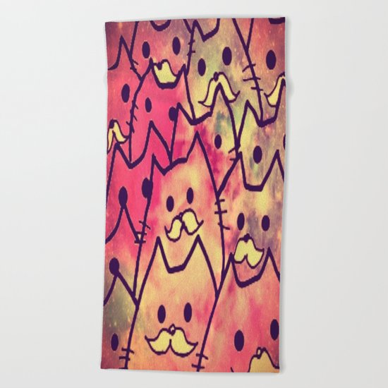 cat-34 Beach Towel