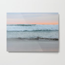 Dreamy Pastel Sunset Metal Print