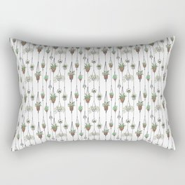 Hanging Plants Rectangular Pillow