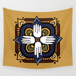 Four Wings Wall Tapestry
