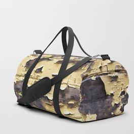 Peeling Yellow Paint Duffle Bag