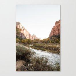 Zion Canyon II Canvas Print