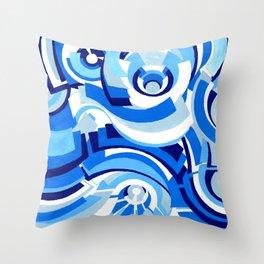 Seigaiha Series - Alliance Throw Pillow