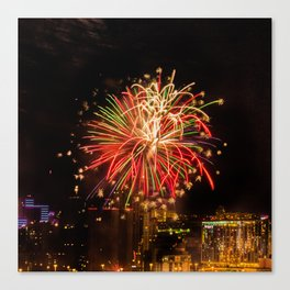 Firework collection 4 Canvas Print