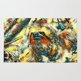 AnimalArt_Sloth_20171201_by_JAMColorsSpecial Rug