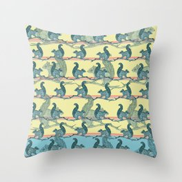 Squirrels! Throw Pillow
